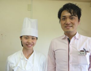 左:白石さん 右:矢野店長